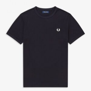 Fred Perry Ringer T Navy