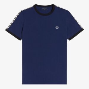 Fred Perry Taped T French Navy