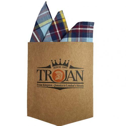 Trojan Sky Check Shirt