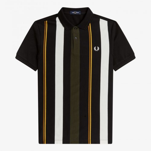 Fred Perry Knitted Stripe Polo