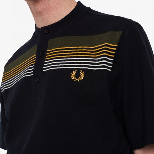 Fred Perry Striped Henley